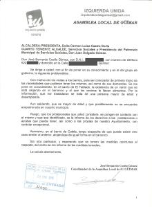 """Escrito el tablado """"exclusión social"""""""